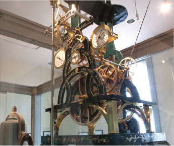 Interior workings of the Old Main Clock