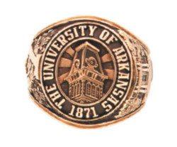 University of Arkansas Senior Ring