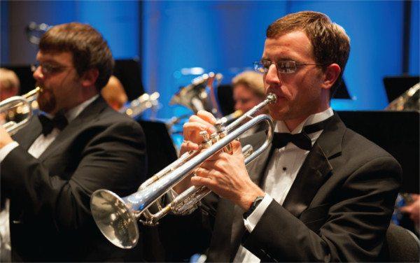 University of Arkansas trumpet player