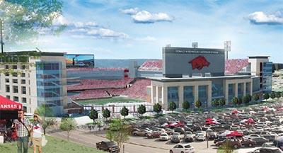 Reynolds Razorback Stadium